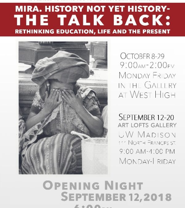 Mira. History Not Yet History: The Talk Back