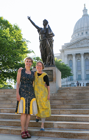 UW-Madison alums Baker, Ross present 'Being Forward' at School of Education Gallery