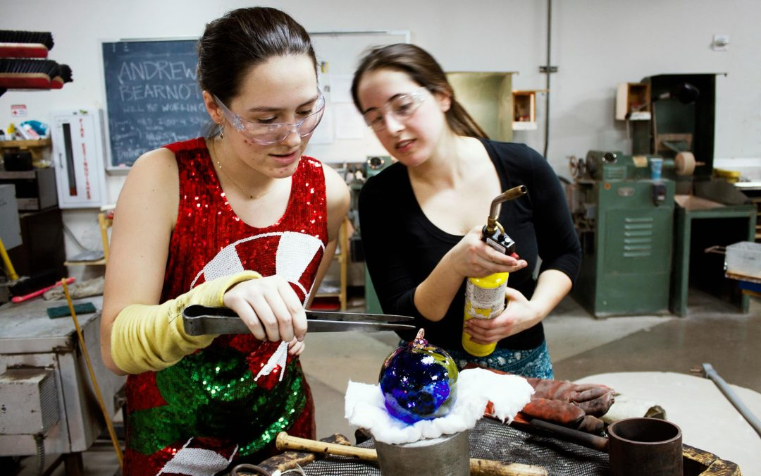 UW Glass Holiday Ornament Sale + Blow Your Own Ornament Event