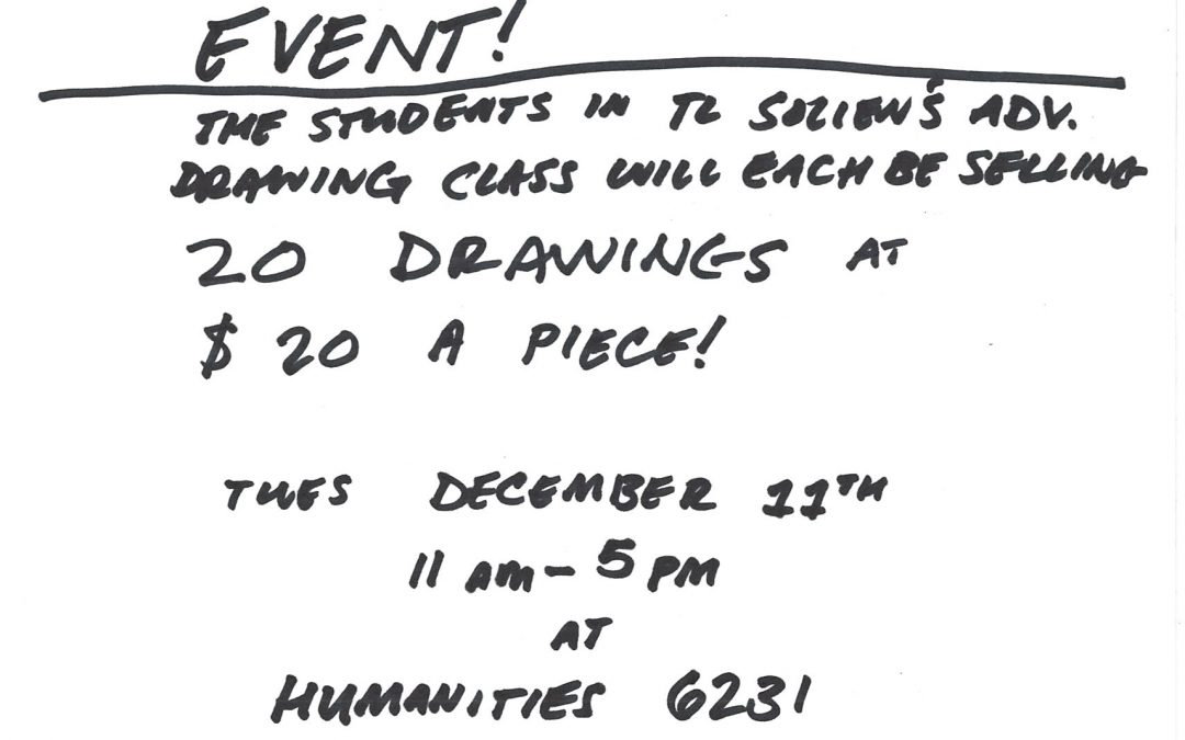 20/20 Drawing Sale