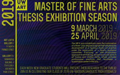 2019 UW Art Master of Fine Arts Exhibition Season