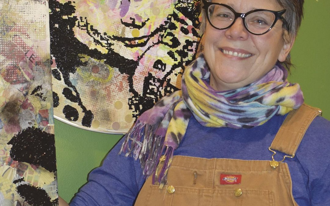 Tribune Profile: Mary Wright: Teacher, artist, and master of whimsy by Steve Sparks