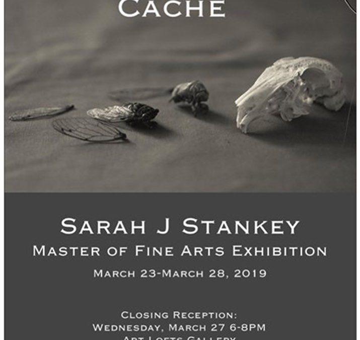 Cache Master of Fine Arts Exhibition by Sarah J Stankey