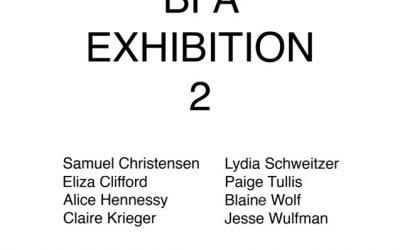 BFA Exhibition 2