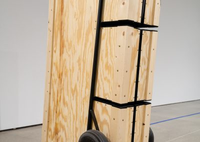 Artwork from Anthony Diebner-Hanson's Master of Fine Arts exhibition Displayful Objects at the Gallery 7 of the Humanities Building, University of Wisconsin-Madison. Photography by Kyle Herrera.