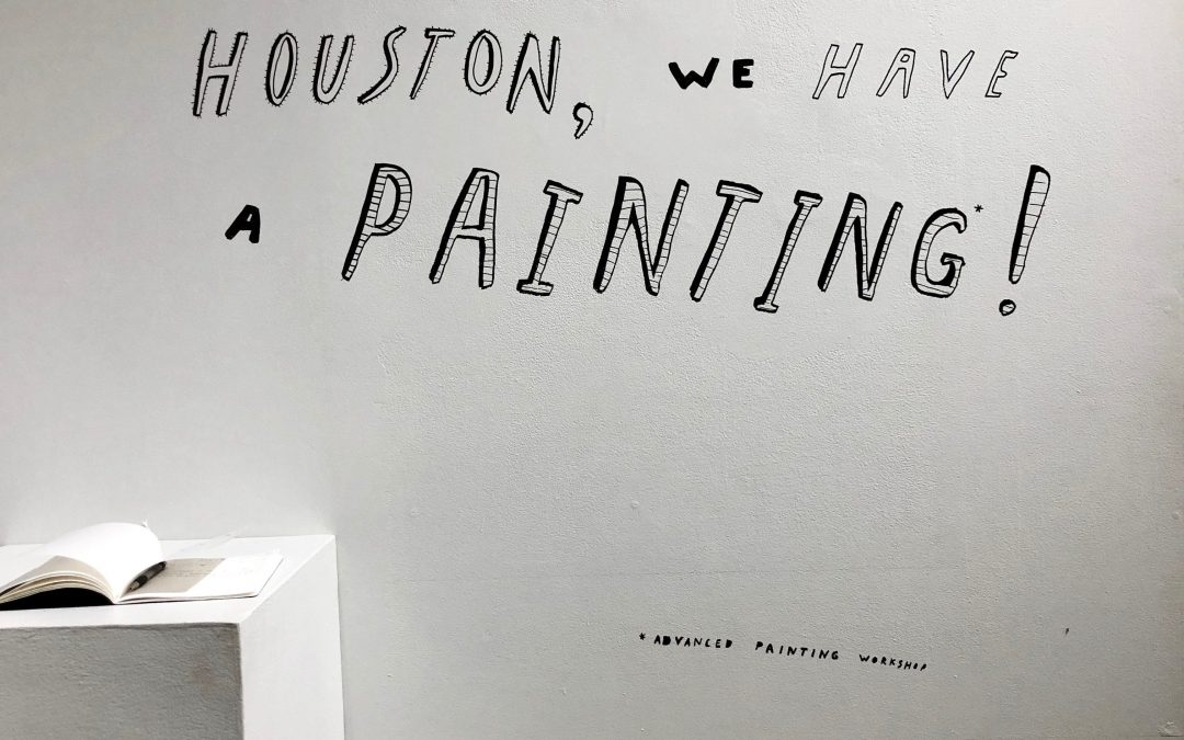 'Houston, we have a painting' dazzles viewers on Madison campus by Adi Dina