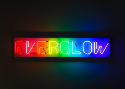 Neon art by Megan Britt BFA 2018