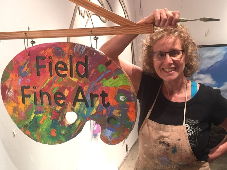 Woodsy and Wonderful: Field Fine Art Studio by Kathi Caldwell-Hopper