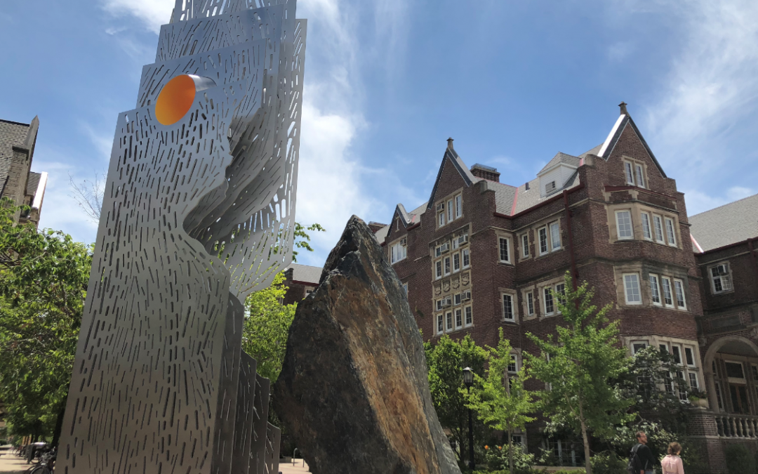More than just eye candy — new UW sculpture welcomes inclusionary thought by Zach Lutz