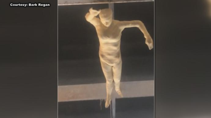 'Creepy' Madison Art Sculpture Draws Attention