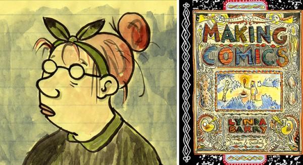 Lynda Barry Explores the Language of Art by Heidi MacDonald