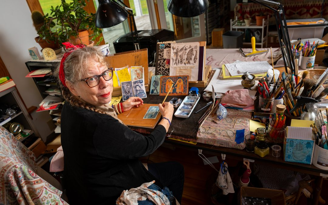 How MacArthur 'genius' Lynda Barry is exploring brain creativity with true artists: Preschoolers by Michael Cavna