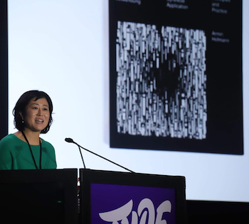 UW-Madison's Ahn delivers presentation at TypeCon in Minneapolis