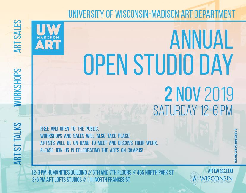 Graduate art students showcase work at Open Studio Day by Emilie Burditt