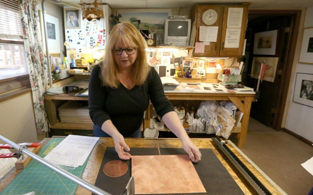 Madison artist Jayne Reid Jackson demystifies mezzotints by Lindsay Christians