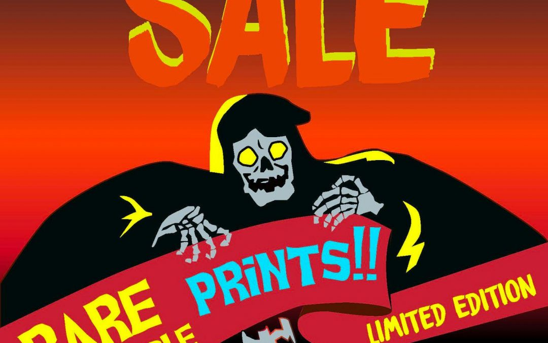 Fresh Hot Press Halloween Print Sale 2019