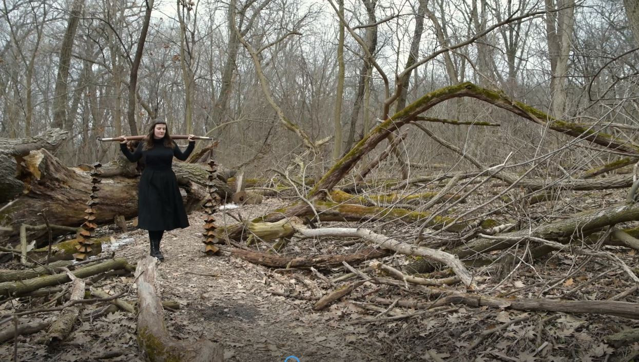 Video still from 154 Bells by Cate Richards.