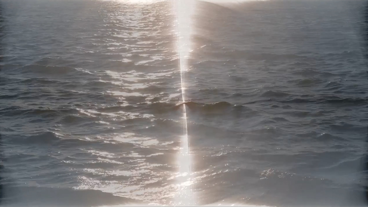 Video still from Water/sun by Kyle Herrera.