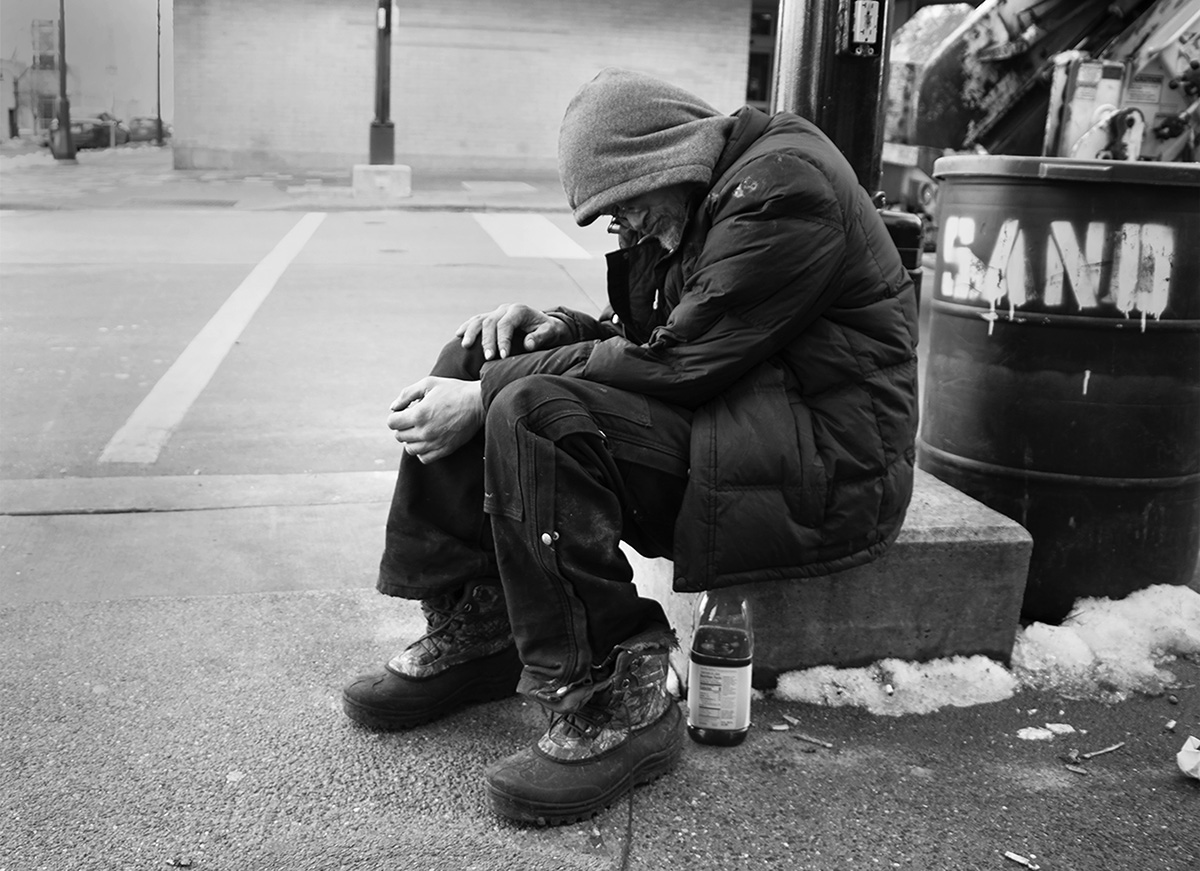 Homeless in Madison, photographs by Charlotte Mabie.