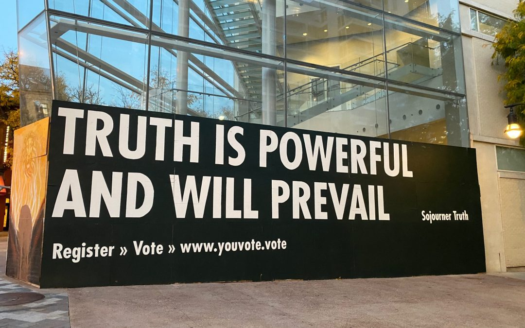 Jenny Holzer's Art Comes To Madison, With Election Twist by Wort News Department and Martin Rakacolli
