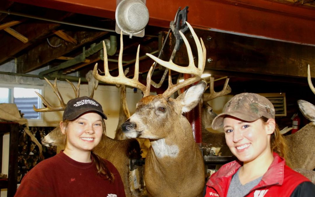 Deer Trails: Taxidermy a chance for artists to show skills