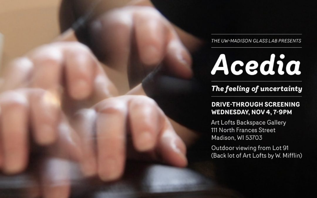 Acedia: The feeling of uncertainty