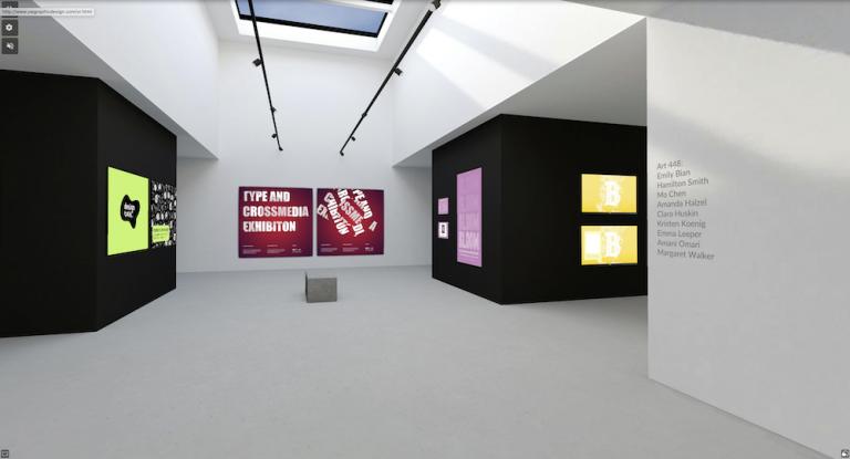 Virtual graphic design exhibition showcases UW-Madison students' work