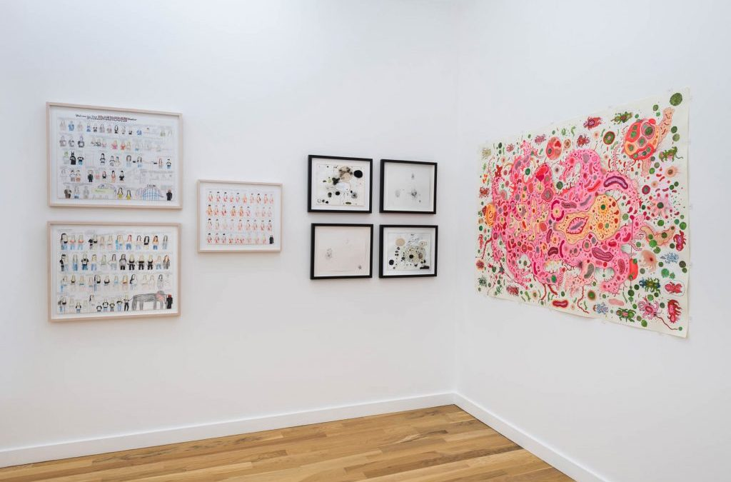 A Respite From The Waking Nightmare: A Review of Western Exhibitions Drawing Biennial by Erin Toale