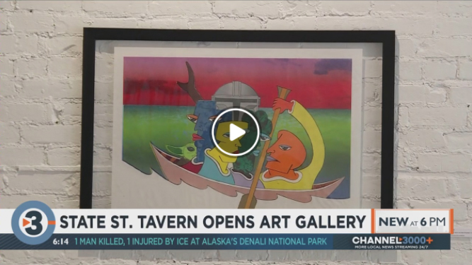 State Street restaurant opens art gallery for local artists by Grace Houdek
