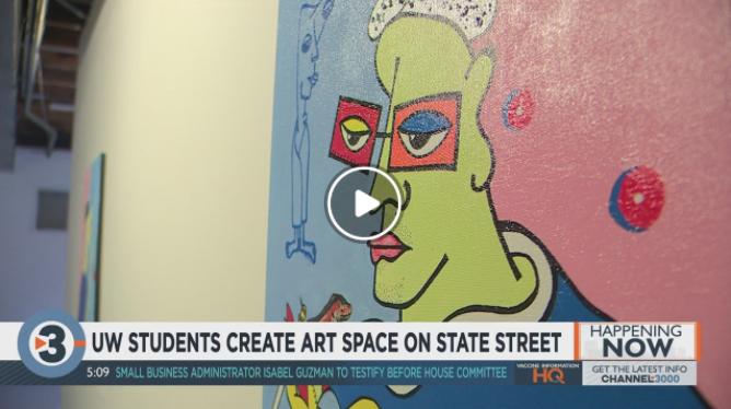 UW students create art space on State Street