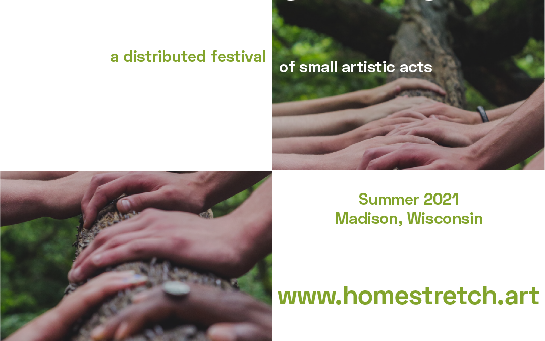 Spatula&Barcode launch 'Home Stretch,' a summer festival of small art events