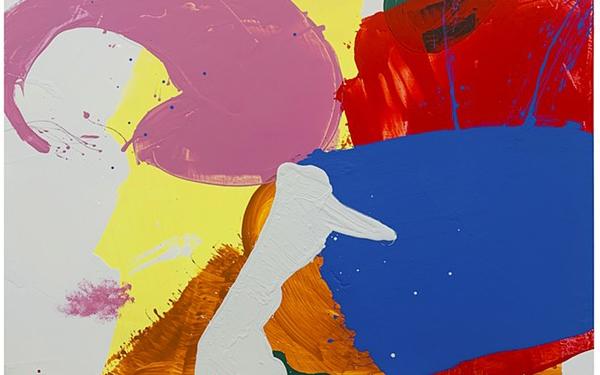 Blue Ocean, acrylic on canvas painting by Cat Balco.
