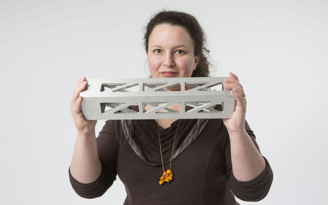 Meg Mitchell, UW/Art Faculty photo.