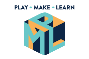Play Make Learn conference logo on a white background