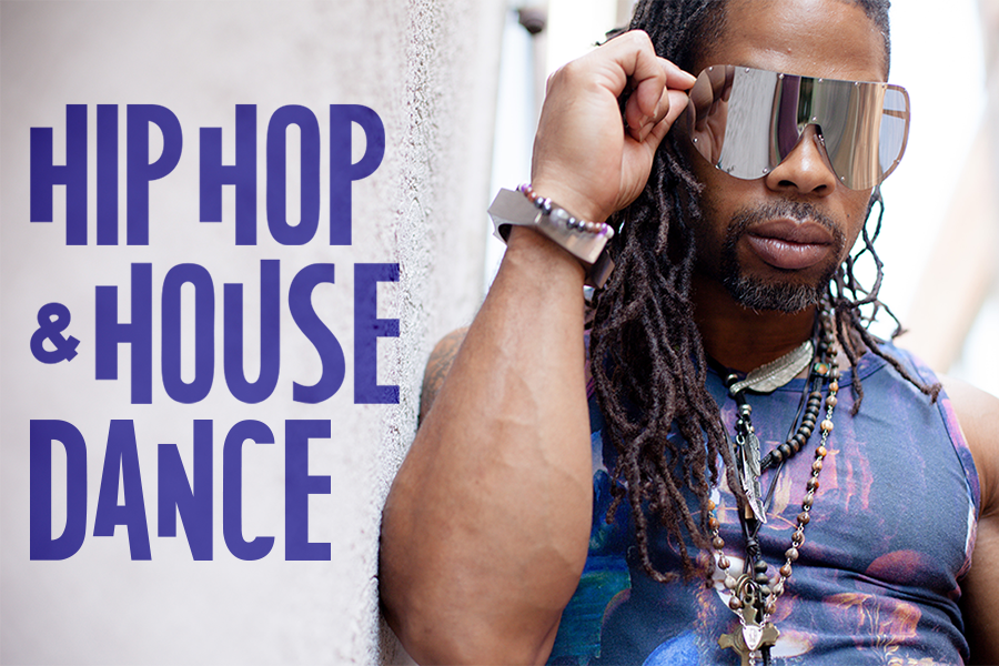 Hip Hop and House Dance Event image with text