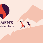 Women's Leadership Incubator Moving Mountains Graphic