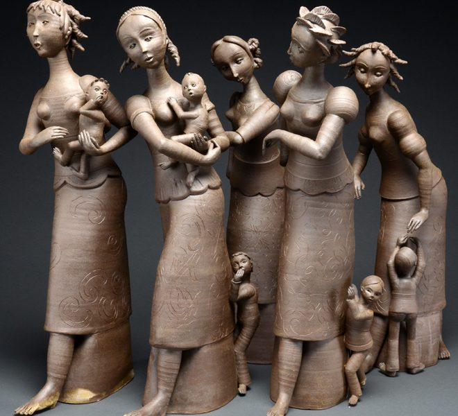 druisana women ceramics by Gerit Grimm